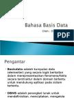Bahasa Basis Data