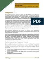 Legislative Acts - MFMA - Circular 20 - Delegation