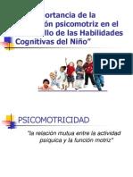 La Importancia de la Educación psicomotriz en el Desarrollo de las Habilidades Cognitivas del Niño