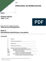 Norma Internacional ISO 690-2 Documentos Electronicos