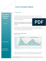 Economic Situation Report August 2013