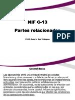 Nif c 13 Partes Relacionadas
