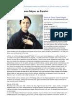 Stgemmagalgani.com-Diario de Santa Gema Galgani en Espaol