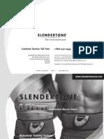 Slendertone Ultra Manual