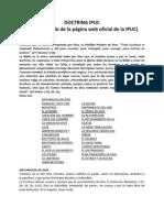 DOCTRINAS IPUC