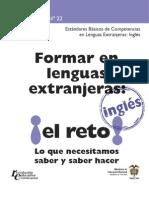 Estándares Básicos de Competencias en Lenguas Extranjeras Inglés