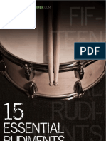 15 Essential Rudiments