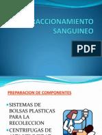 FRACCIONAMIENTO SANGUINEO equipos