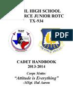 TX-934 Handbook 2013-2014