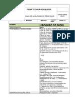 Fichas Tecnica Del Hidroxido de Sodio