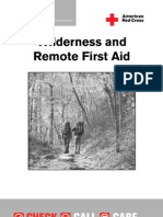 Wilderness and Remote First Aid -Pocket Guide