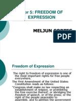 MELJUN CORTES Freedom Expression