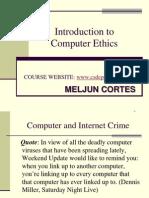 MELJUN CORTES Intro ITEthics