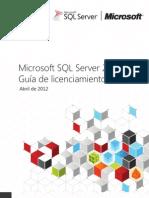 SQL Server 2012 Licensing Guide