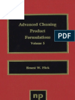 Ernest W. Flick-Advanced Cleaning Product Formulations. Vol. 5-William Andrew (2007)