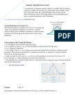 Normal Distribution Notes and Workbook