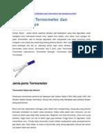 bahan rujukan termometer