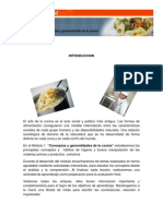 Generalidades Cocina Internacional