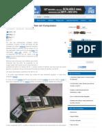 Cómo limpiar la Memoria Ram del Computador