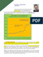 Loic Abadie 13 Mai 2009 - Le point sur la bulle de crédit - fr - crise 2009 investir geab paul jorion 35 francois leclerc