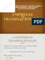 EMPRESAS TRANSNACIONALES