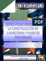 Especificaciones Para La Construccion