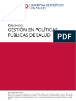Gestion Politicas Publicas en Salud