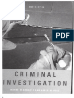 Criminal Investigation Textbook - Published 2007