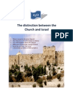The Distinction Between the Church and Israel