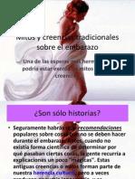 Mitos y Creencias Tradicionales Sobre El Embarazo