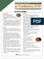 H1N1 Fact Sheet Spanish 10-1-09