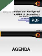 ghaNOZ 2480 Tutorial Instalasi dan Konfigurasi xampp di Ubuntu Linux