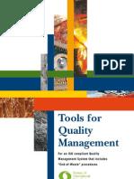 BIR Tools for Quality Management En