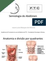 Semiologia do Abdômen completo