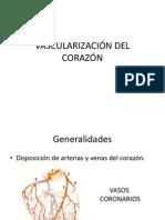 VASCULARIZACIÓN DEL CORAZÓN