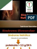 Síndrome nefrótica