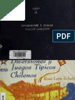Diversiones y Juegos Populares Chilenos