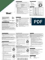 Analog Tester Manual
