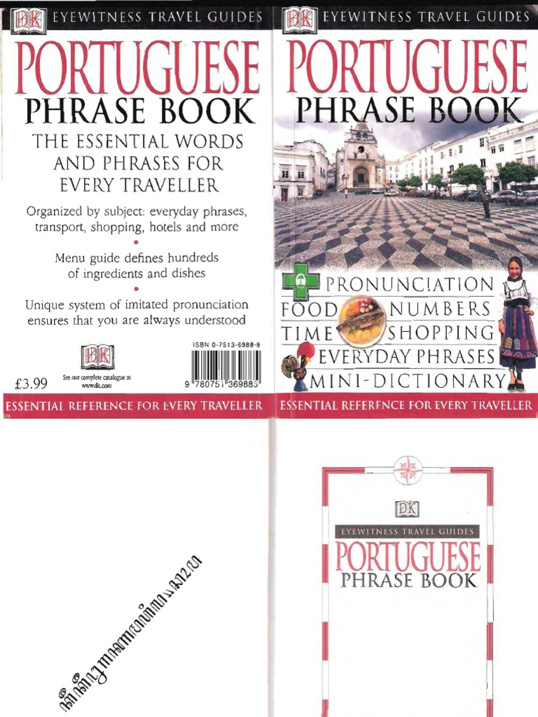Portuguese phrase book bus english language fandeluxe