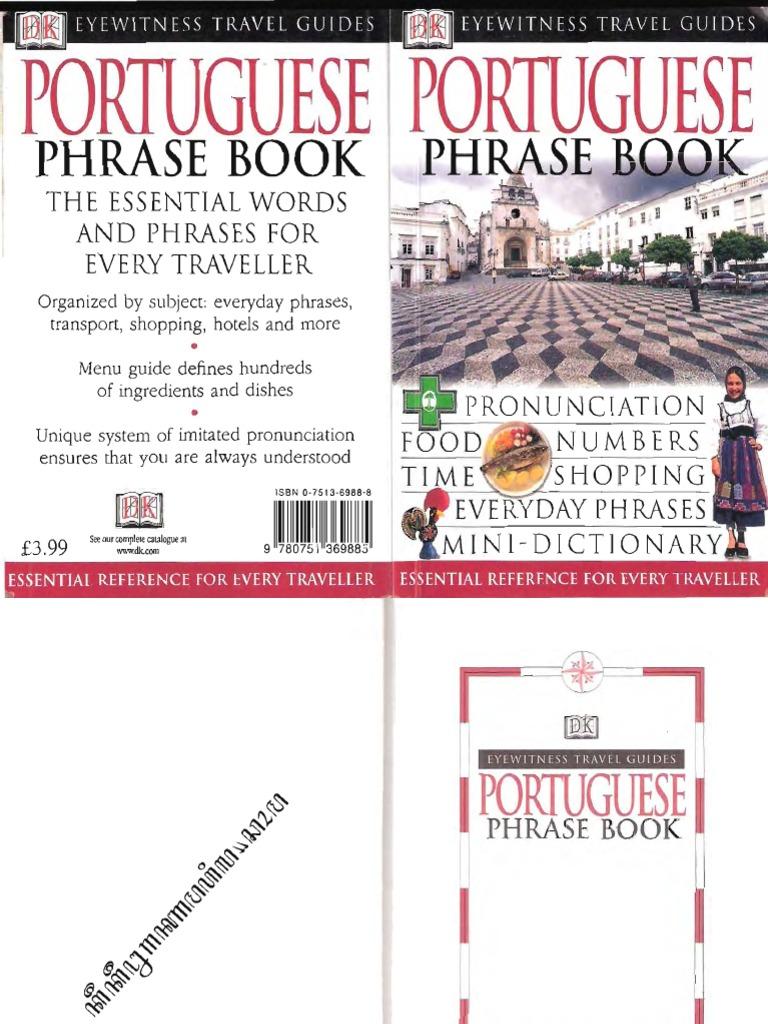 Portuguese phrase book bus english language fandeluxe Gallery