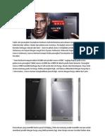 Lenovo K900 Ludes Terjual Di Pasar Lokal