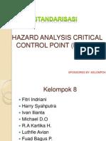 Hazard Analitycal Critical Control Point (Haccp)