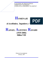 Homenaje Rafael Alfonzo Ravard
