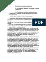 Orientaciones para la enseñanza Cs.Sociales