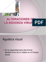 Alteraciones de La Agudeza Visual