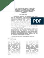 Jurnal Analisis Kerja Mesin Hidrolik Pencetak Paving Dengan Sistem Hand Control Hidrolik Pada Waktu Yang Dibutuhkan Langkah Naik Dan Turun Silinder Hidrolik