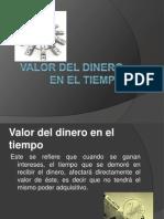 Valor Del Dinero en El Tiempo.