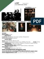 Metal Bulletin Zine 37