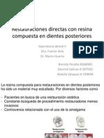Restauraciones Directas Con Resina Compuesta en Dientes Posteriores (1) (1)