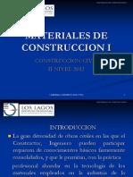 Materiales de Construccion i Clase 2a